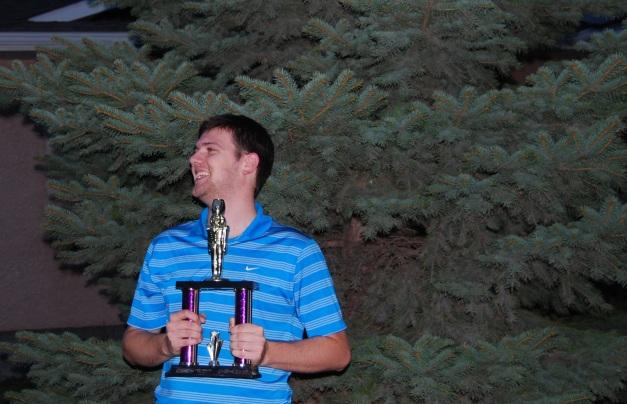 James Hiebert, your 2012 Spreadsheet Fantasy Champion