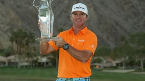 Brian Gay was all smiles after winning the Humana Challenge