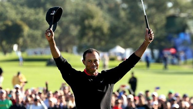 Tiger Woods dominated the field at Torrey Pines, cruising to a four shot victory in the first Tier 2 tournament of 2013
