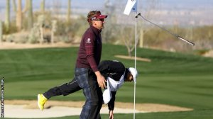 Match play specialist Ian Poulter was the lone bright spot for Brent at an event he usually excels in