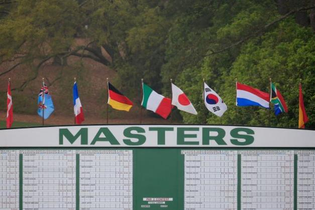 The starting lineups for the 78th Masters Tournament