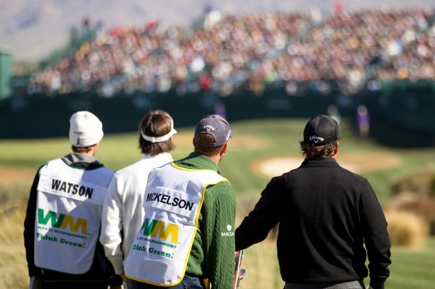 Masters Champions Bubba Watson and Phil Mickelson are among the big names in Thursday's late groupings