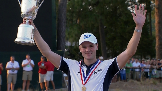Martin Kaymer lapped the field, capturing the U.S. Open by a record-tying 8 strokes
