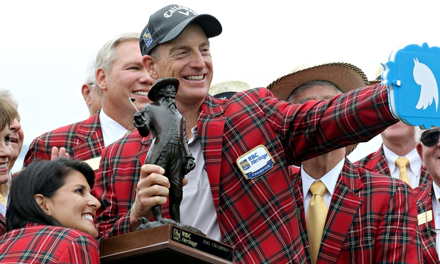 Jim Furyk's win at the RBC Heritage helped Beast extend his already substantial lead